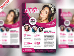 Beauty Salon Flyer Design Psd By Psd Freebies On Dribbble