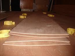 flattening warped plywood