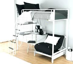 bunk bed sofa single bedroom charming with loft futon and desk three bed bunk beds