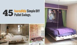 ... Good Looking Bedroom Decoration Using Shipping Pallet Bed Frame :  Fetching Image Of Bedroom Decoration Using ...