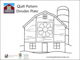 Small Picture Coloring Pages for the Barn Quilts of Carver County Barn Quilts