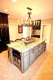 kitchen island with granite top islands full size of rustic black oval uk