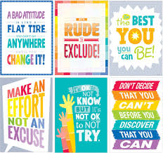 Motivational Charts For School Inspire U 6 Chart Pack 1 Ctp7423