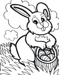 Easter Eggs Coloring Page Mybellabe