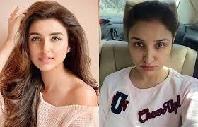 hindi e parineeti chopra without makeup