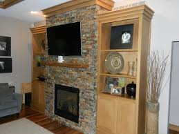 fireplace with built ins contemporary family room