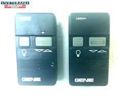 genie garage door opener remote replacement control battery parts ope