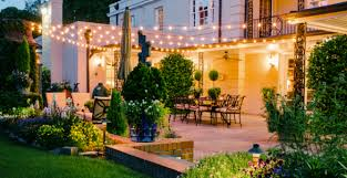 superb exterior house lights 4. Creating Ambiance With String Lighting Superb Exterior House Lights 4