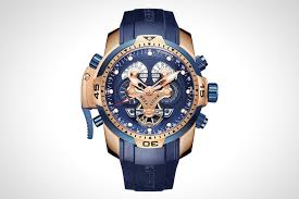 reef tiger men s military rose gold watch