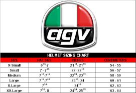 Agv Helmet Size Chart Agv Helmet Size Hat Sizes Agv Helmets Helmet