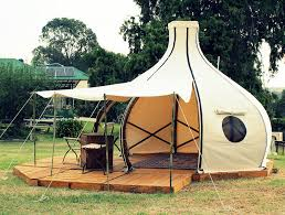 this gorgeous bamboo f route pod is perfect for your glamping getaway inhabitat green design innovation architecture green building