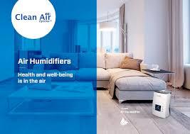 Luftbefeuchter Mit Ionisator Ca 606 Clean Air Optima Luftreiniger