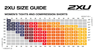 2xu Youth Compression Tights Size Chart Abundant 2xu Compression Pants Size Chart 2xu Kids Girls