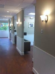 dental office decor. Chiropractic Office Decor Hallway Design, Could Remove All The Doors An Have One Recessed Sliding Dental