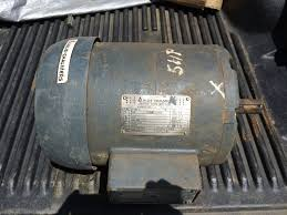 allis chalmers 3 phase electric motor 5 hp model 613 1 of 5only 1 available