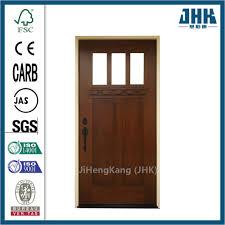 commercial interior solid wood wooden exterior door jhk g32 2