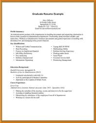 First Resume No Experience Event Executive Sample Resume Gtd And