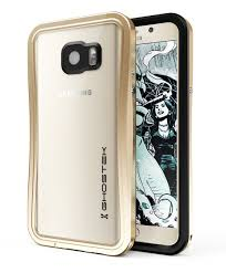 Samsung Galaxy Note 5 Case Ghostek Frame Atomic Gold Series