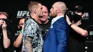 Conor McGregor vs. Dustin Poirier ...