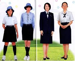 Japanese girl scout uniform