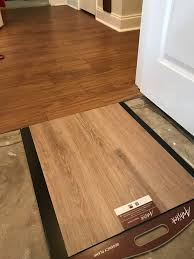 using diffe color vinyl plank floor