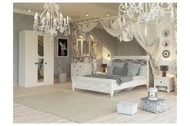 Landhausstil Schlafzimmer Komplett Amelie 6 Teilig Creme Weiß