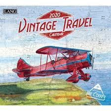 Vintage Travel 2020 Wall Calendar | | Calendars.com