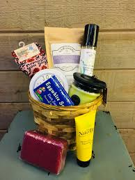 spa relax basket