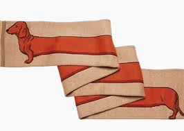 i love dachshunds scarf jpg