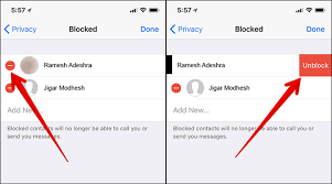 How to Block Unblock WhatsApp Contacts on iPhone