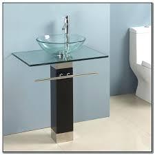 glass bowl sink vanity installation