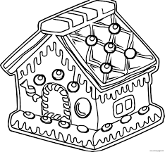 Print out these fun gingerbread house coloring pages, activities and games to play with your kids. Gingerbread House Of Bread Coloring Pages Printable