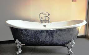 refinished clawfoot tub for