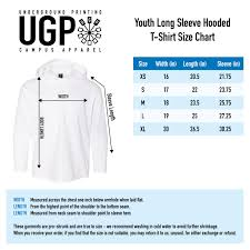 Anvil Youth Shirt Size Chart Hail To The Victors Michigan Anvil Youth Long Sleeve Hooded Tee Navy