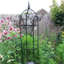 steel garden obelisk from mr fothergill