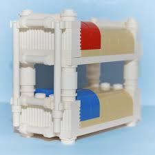 Lego Bedroom Lego Furniture Bunk Bed White Custom Kids Bedroom Set
