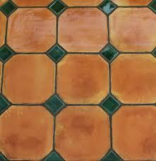 ocon and dot clay glazed green mosaic floor tile design rates ideas in karachi