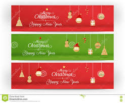 merry christmas and happy new year banner. Interesting Happy VectorRed And Green Merry Christmas Happy New Year Icon Inside Christmas And Happy New Year Banner S
