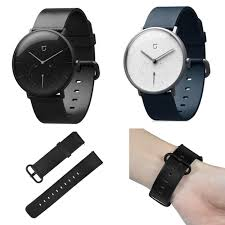 bakeey replacement genuine leather strap watch band for xiaomi mijia smart watch cod
