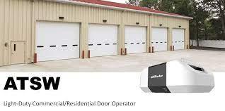 mercial garage door openers same