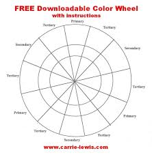 Color wheel template kids craft color wheel projects color wheel primary color read more… latest worksheet template. Free Color Wheel Value Scale Templates Carrie L Lewis Artist
