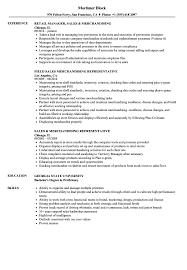 Sales Merchandising Resume Samples Velvet Jobs