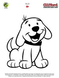Small Picture Clifford Printables Puppy Coloring Pages PBS Kids bbs