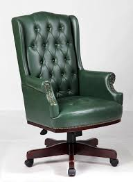office leather chair. Executive Managers Office Chair Green Leather C