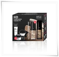 foundation palette make up for ever hd plexion starter kit make up for ever unretouched caign