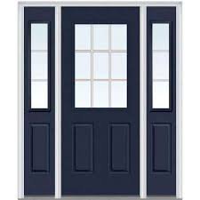 front door with sidelightSingle door with Sidelites  Steel Doors  Front Doors  The Home