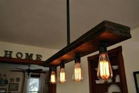 rustic lighting ideas wood beam and lights lamp diy chandelier wedding gorgeous chandeliers diy rustic chandelier beam