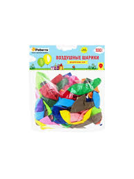 <b>Воздушные</b> шарики, 30 см, круглые, разноцветные, без рисунка ...