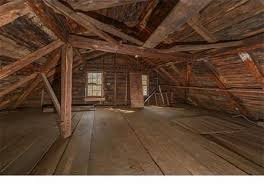 attic in house. i love how rustic the attic in this 1693 home is would make for a great reading spot thinking little women be good first book to read up here house t
