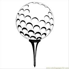 Golf Ball Coloring Pages Get Coloring Pages